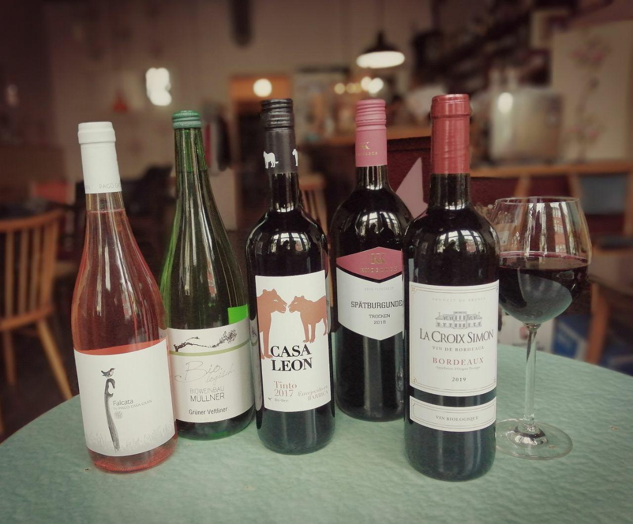Unsere neuen Weine